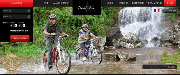 Hunas falls by Amaya